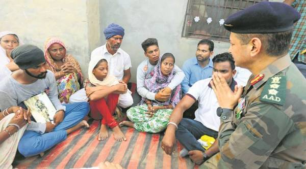 Martyr's funeral in Punjab, cross border firing in Punjab, India news, National news, latest news, India news, National news
