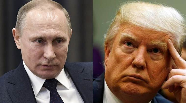 US, Russia, United states, Russian president Vladimir Putin, Putin cuts US diplomatic staff, US sanctions on Russia, Donald Trump, Barack Obama, world news, Indian Express news