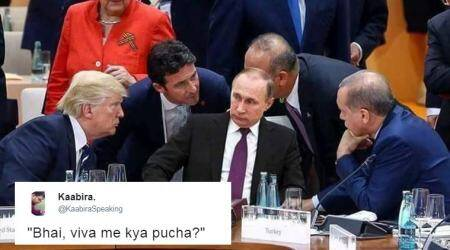 G20 Summit: Indian Twitterati are busy captioning this FAKE photo, but it's stillhilarious