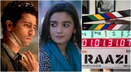 Meghna Gulzar directorial Raazi, starring Alia Bhatt and Vicky Kaushal begins shooting. See photo