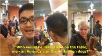 WATCH: US woman calls Chinese couple 'foreign dogs' at NYC McDonald's