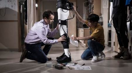 Robotic ankle support to help stroke patients walk properly