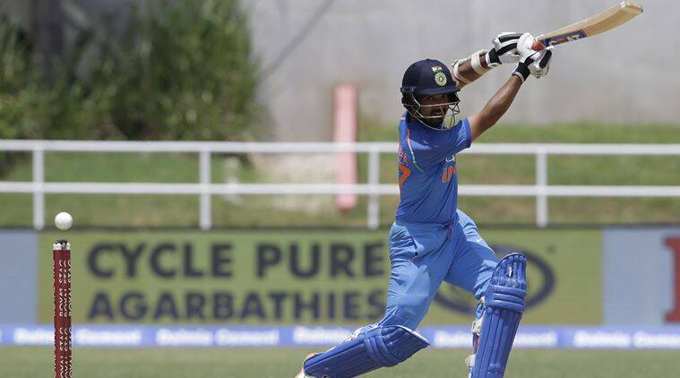 Rishabh Pant in for India, West Indies bowl
