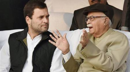 Rahul Gandhi, L K Advani talk in Lok Sabha as BJP, Congress spar over issues