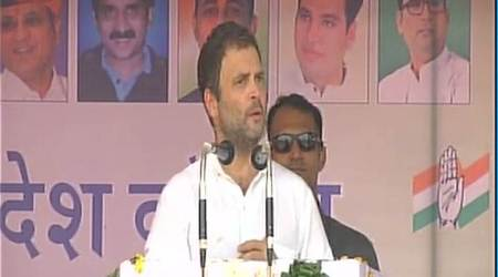 Rahul Gandhi in Rajasthan: Modi govt not allowing us to speak on farmers inParliament