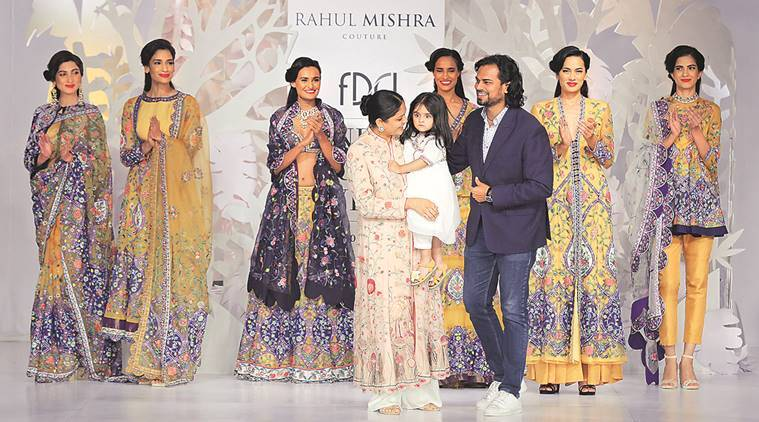 Rahul Mishra, India's India Couture Week, Fashion Design Council of India, Parizaad, India news, national news, latest news