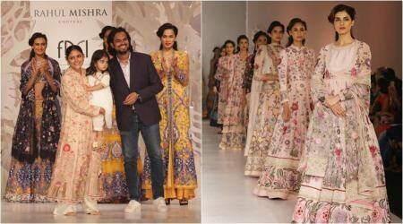 India Couture Week 2017: Rahul Mishra's feather-light collection is a 'sheer' delight for fashionistas