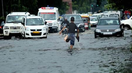 Heavy rains cause flood-like situation in various parts ofcountry