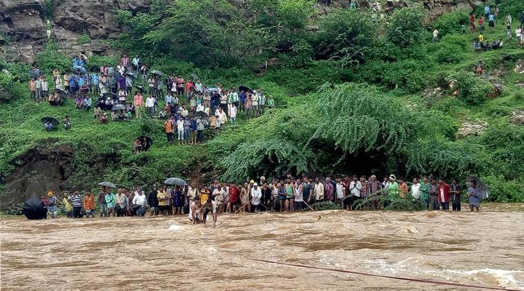 Monsoon, Rain, Rajasthan, Rajasthan rain, Rajasthan floods, latest news, indian express