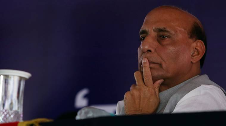 Rajnath Singh, Rajnath Singh's visit to Jodhpur, guard of honour for Rajnath Singh, cops skip Rajnath Singh's visit, police personal take mass leave before Rajnath singh's visit, India news, National news, latest news, Rajnath Singh news, Rajasthan police news