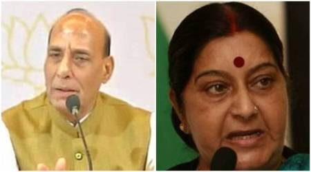 Rajnath Singh, Sushma Swaraj to brief opposition on China stand-off, Jammu and Kashmir situation