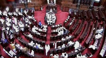 Rajya Sabha adjourns after Opposition-BJP clash on 'abduction' of Congress Gujarat MLA
