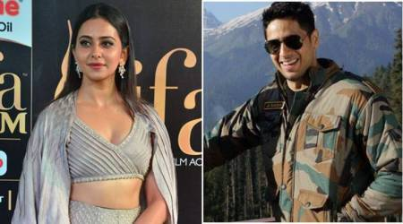 Sidharth Malhotra and Rakul Preet Singh shooting for Aiyaary in London