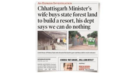 Wife's land: Minister says didn't know status, records say otherwise