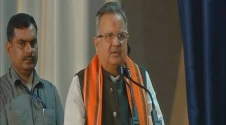 Chhattisgarh: Minister in land grab row, CM Raman Singh meet Shah