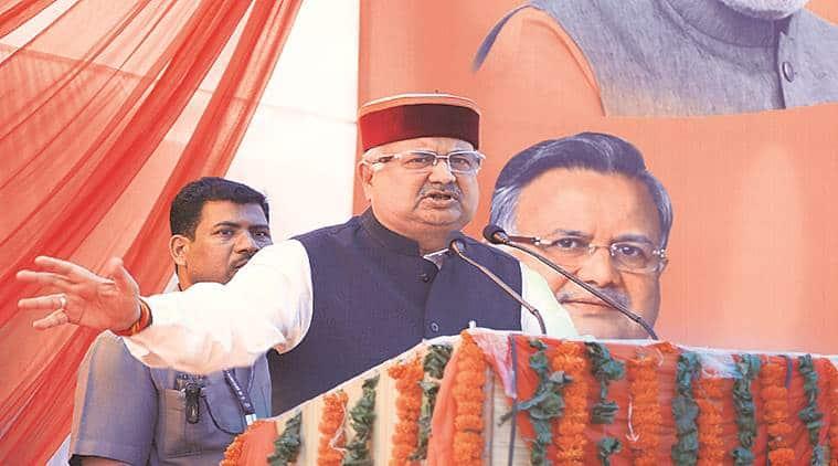 Raman Singh Parivartan Rath Yatra, Parivartan Rath Yatra Narendra Modi, Congress Corruption, BJP Chhattisgarh, Indian express, India news, latest news