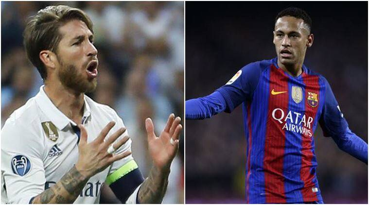 sergio ramos, ramos, neymar, neymar transfer, neymar transfer barcelona, neymar transfer psg, football, sports news, indian express