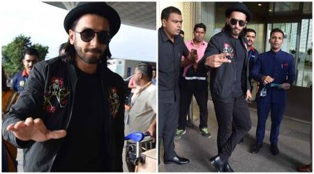 Ranveer Singh makes first appearance post his make-over to play the younger Allauddin Khilji in Padmavati. See photos