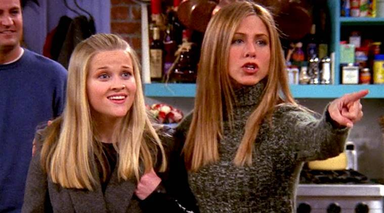 reese witherspoon, jennifer aniston, friends, friends jennifer aniston, friends reese witherspoon
