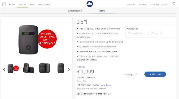 Reliance Jio may launch 4G VoLTE feature phone at AGM