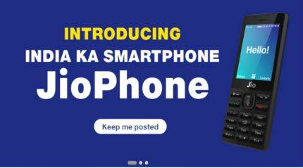 Reliance JioPhone booking on Jio.com: Here's how you can apply for the 4G VoLTE feature phone