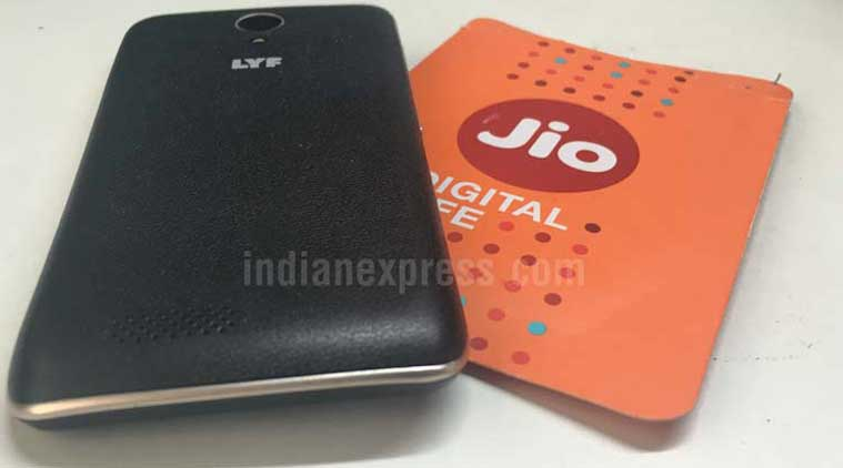 Reliance Jio Lyf 4G VoLTE Phone Images Appears Online