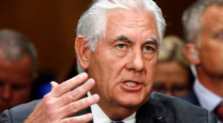 US could remain in Paris climate deal, says Rex Tillerson