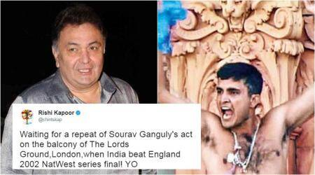 India vs England Women's World Cup Final: Rishi Kapoor justifies Ganguly's Lords 'act' tweet, says you have wrong mind