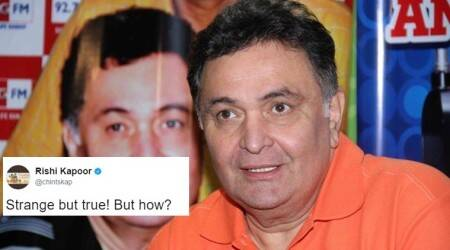 Rishi Kapoor shares a 'strange but true' WhatsApp forward kinda tweet and Twitterati ask him to chill