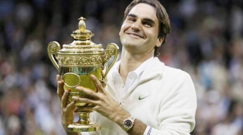 Roger Federer won his eighth title at Wimbledon