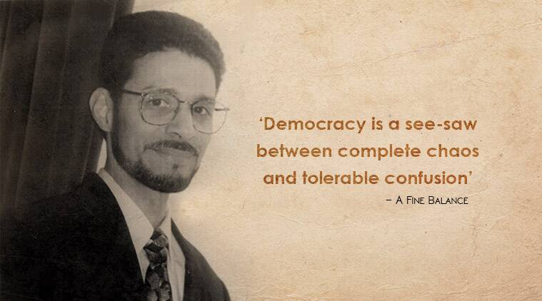 Rohinton Mistry, quotes by Rohinton Mistry, books by Rohinton Mistry, rohinton mistry's birthday, indian express, indian express news