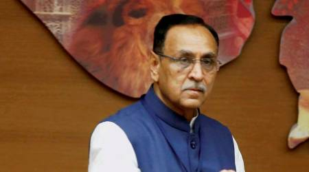 Ahmed Patel's greed to win RS poll will sink Gujarat Congress: CM Vijay Rupani