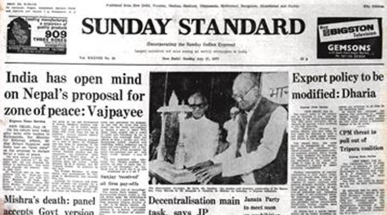 Vajpayee, Nepal, L.N. Mishra, Janata Government, Janata Government's Export Policy, Forty Years Ago Indian Express, Indian Express News