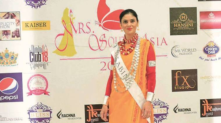Jainsem, Jainsem traditional Khasi attire, Sabina Parvez Warjri, Mrs South Asia,  Mrs Universal pageant, Gandhiji in South Africa, Indian Express News