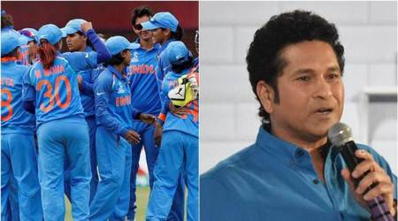 We believe in you and we're with you: Sachin Tendulkar cheers for Indian women's team