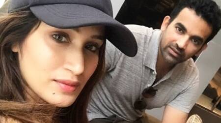 Sagarika Ghatge wines and dines fiance Zaheer Khan in London