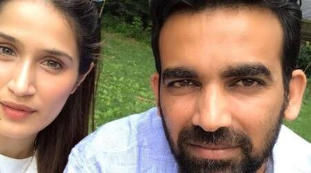 Sagarika Ghatge is chilling with fiancé cricketer Zaheer Khan in New York. See photo