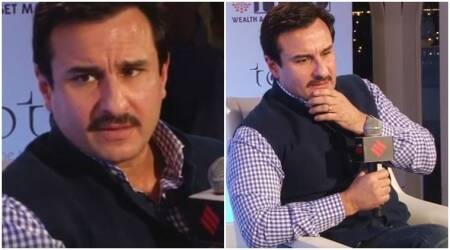 saif ali khan, saif ali khan on nepotism, saif ali khan on becoming an action, saif ali khan on CBFC, saif ali khan on freedom of expression, saif ali khan on family, saif ali khan family, saif ali khan films, saif ali khan taimur, saif ali khan news