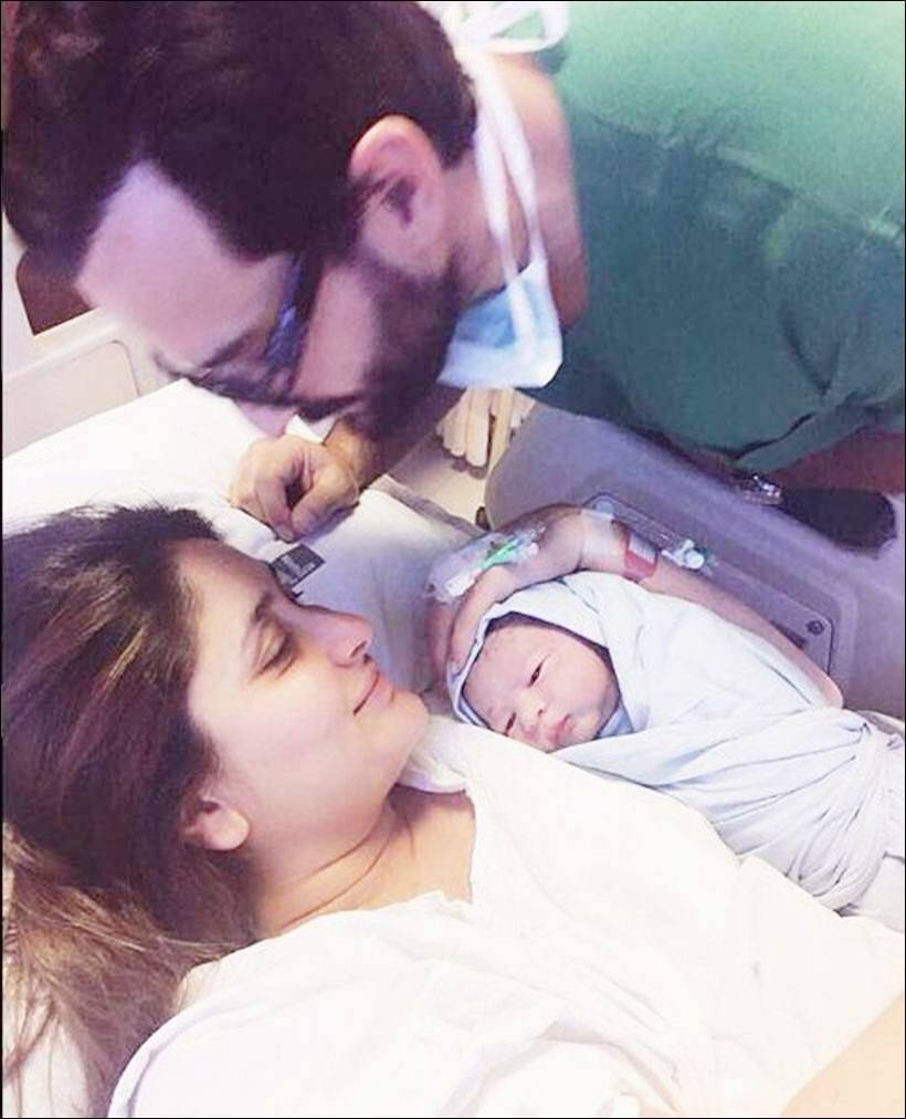 Baby Taimur off to his first holiday with mom-paa Kareena-Saif
