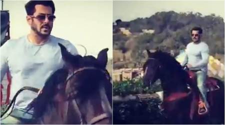 Salman Khan takes up horse riding for Tiger Zinda Hai and he is doing it like a pro, watch video