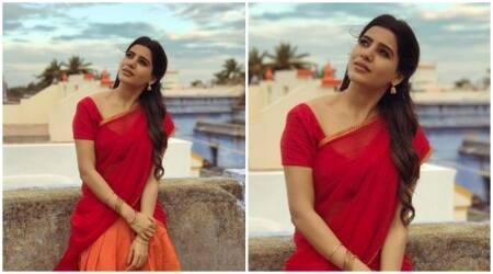 Samantha Ruth Prabhu's look from upcoming Sivakarthikeyan starrer is stunning. See photo