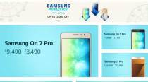 Samsung Mobile Fest on Amazon India: Galaxy C7 Pro at Rs 25,990, and more