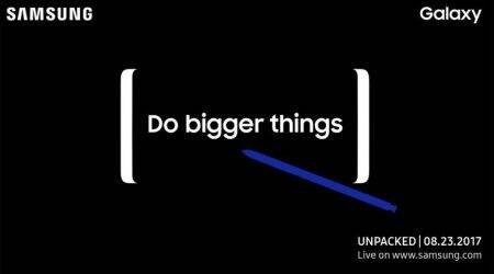 Samsung Galaxy Note 8 is officially launching on August 23, confirms company