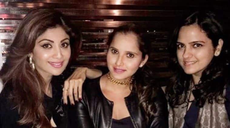 Sania Mirza, Shilpa Shetty, Indian Express