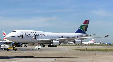 South Africa's government bails out state airliner SAA to avoid default