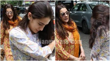 Sara Ali Khan joins her mother for a walk