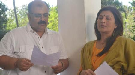 Sarika turns creative producer for a web series Ab Ki Baari Vipin Bihari, starring Vinay Pathak