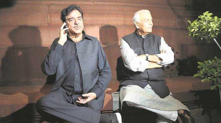 BJP leader wants Yashwant Sinha and Shatrughan Sinha to quit
