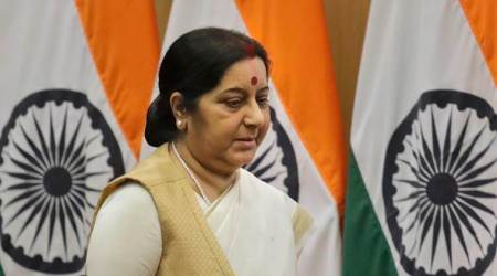 Sushma Swaraj, EAM Sushma Swaraj, Iraq, Indian Prisoners Abducted Iraq, Iraq, India News, Indian Express, Indian Express News