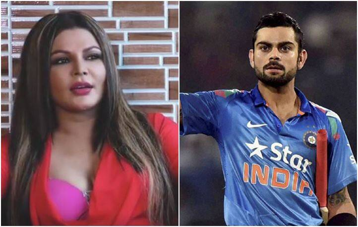 virat kohli, team india, rakhi sawant, rakhi sawant virat kohli, india vs pakistan, india cricket team, champions trophy 2017, cricket, indian express